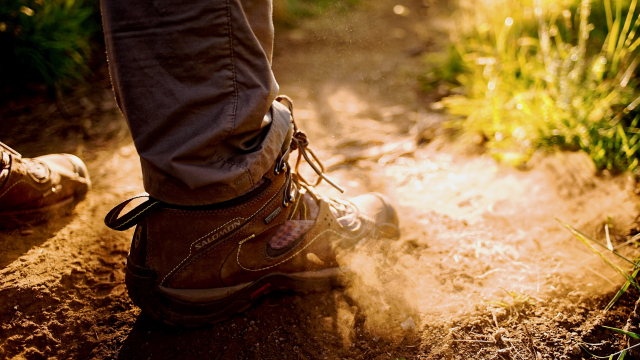 hiking_boot_dust_cloud_unsplash