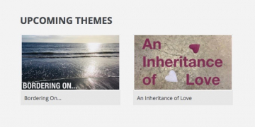 Borders and Inheritance… Oct + Nov themes online