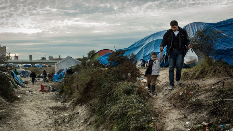Working at the Calais Refugee Camp