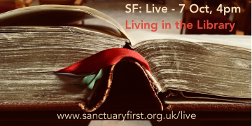 Upcoming event SF: Live 'Living in the Library'