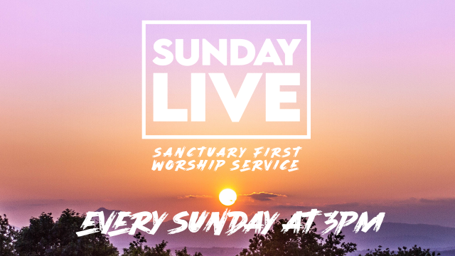 Sunday LIVE  - Every Sunday at 3PM